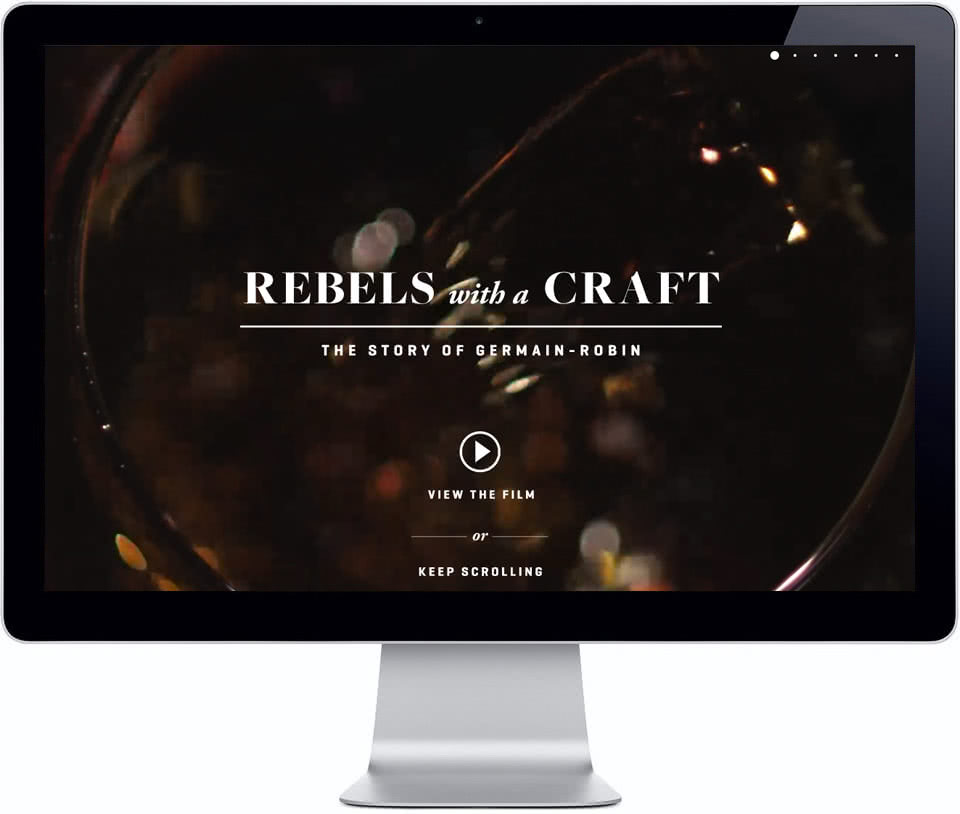 Germain Robin: Rebels with a Craft Website
